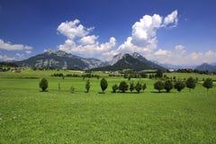 Panorama de Áustria Fotografia de Stock