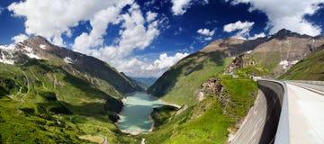 Panorama de Áustria Kaprun Imagem de Stock Royalty Free
