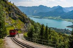 Panorama de Áustria Kaprun Fotos de Stock
