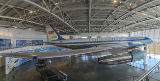 Panorama de Air Force One Imagen de archivo