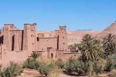 Panorama de Ait Ben Haddou Casbah perto da cidade de Ouarzazate em Morocc Foto de Stock