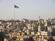 Panorama de Amman, Jordania foto de archivo libre de regalías