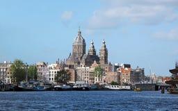 Panorama de Amsterdão Foto de Stock Royalty Free
