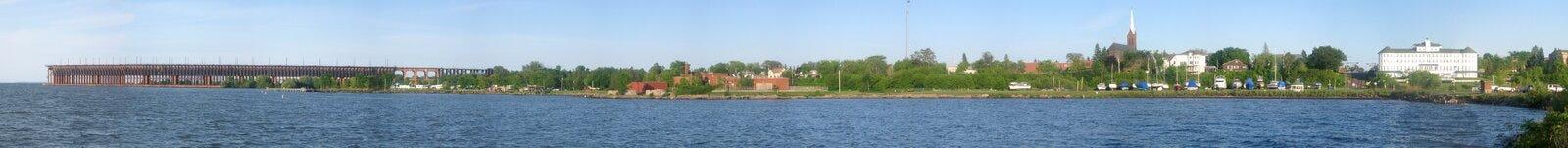 Panorama de Ashland imagem de stock