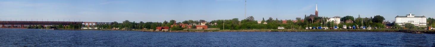 Panorama de Ashland foto de stock