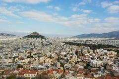 Panorama de Atenas Fotos de archivo