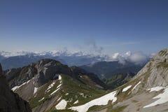 Panorama de bâti Pilatus photo stock