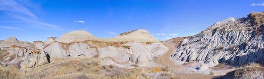 Panorama de bad-lands Photo libre de droits