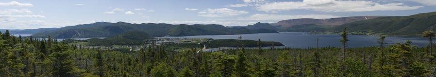 Panorama de baie de Bonne Photos stock