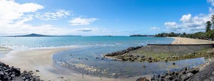 Panorama de baie de mission Photos libres de droits