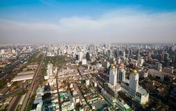 Panorama de Bangkok Photographie stock libre de droits