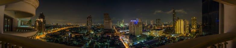 Panorama de Bangkok Imagen de archivo libre de regalías