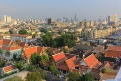 Panorama de Bangkok Imagen de archivo