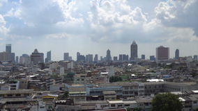 Panorama de Bangkok du centre, Thaïlande banque de vidéos