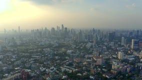 Panorama de Banguecoque video estoque