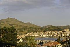 Panorama de Banyuls Foto de Stock Royalty Free