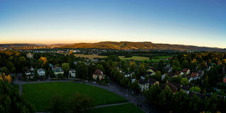 Panorama de Basileia Foto de Stock Royalty Free