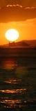 Panorama de bateau de croisière Photographie stock libre de droits