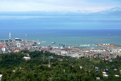 Panorama de Batumi Imágenes de archivo libres de regalías