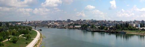 Panorama de Belgrado imagem de stock royalty free