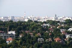 Panorama de Belgrado Fotos de Stock
