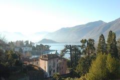 Panorama de Bellagio Image stock