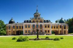 Panorama de belvédère baroque de Schloss, Weimar images libres de droits