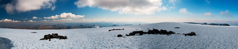 Panorama de Ben Nevis Imagem de Stock