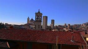 Panorama de Bergamo, Italy filme