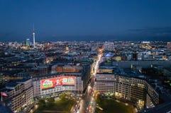 Panorama de Berlín Foto de archivo libre de regalías