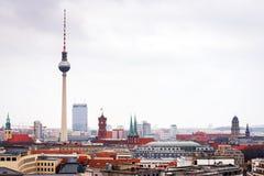 Panorama de Berlín del este Fotografía de archivo