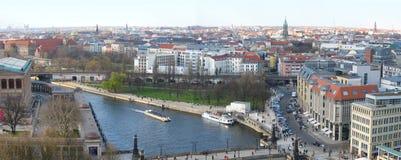 Panorama de Berlim Fotografia de Stock