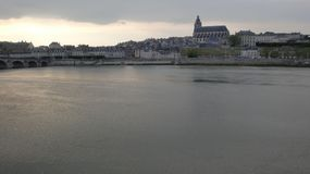 Panorama de Blois foto de archivo libre de regalías