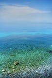 Panorama de bord de la mer photographie stock libre de droits
