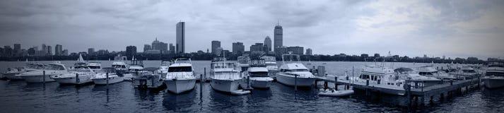 Panorama de Boston Photo stock