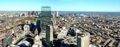 Panorama de Boston Fotografia de Stock Royalty Free