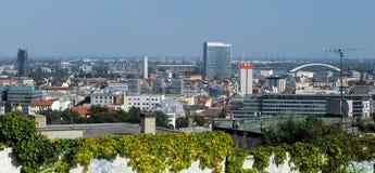 Panorama de Bratislava Images libres de droits