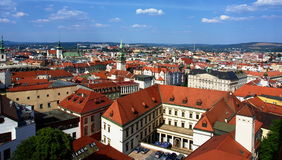 Panorama de Brno Foto de Stock Royalty Free