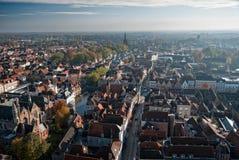 Panorama 1 de Bruges Fotos de Stock Royalty Free