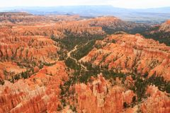 Panorama de Bryce Canyon National Park, EUA Fotos de Stock Royalty Free
