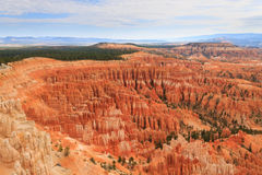 Panorama de Bryce Canyon National Park, los E.E.U.U. Foto de archivo