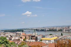 Panorama de Budapest. Photo stock