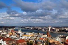 Panorama de Budapest Photo stock