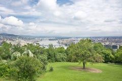 Panorama de Budapest Imagem de Stock Royalty Free
