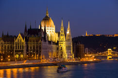 Panorama de Budapest Photo stock