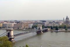 Panorama de Budapest Image libre de droits