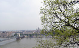Panorama de Budapest Photo libre de droits