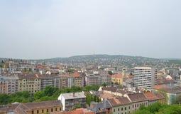 Panorama de Budapest Photographie stock libre de droits