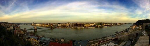 Panorama de Budapest Fotografía de archivo libre de regalías