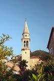 Panorama de Budva Photographie stock libre de droits